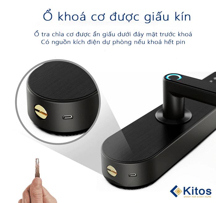 Khóa cửa mã số Kitos KT-A50