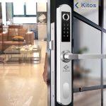 Khóa vân tay cửa đố nhỏ Kitos KT-AL450