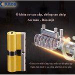 Khóa cửa điện tử tân cổ điển Kitos C500