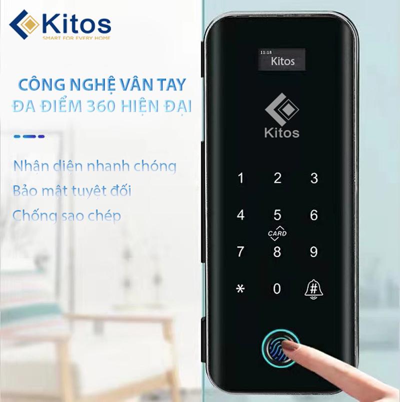 Khóa thông minh cửa kính Kitos KT-GL50