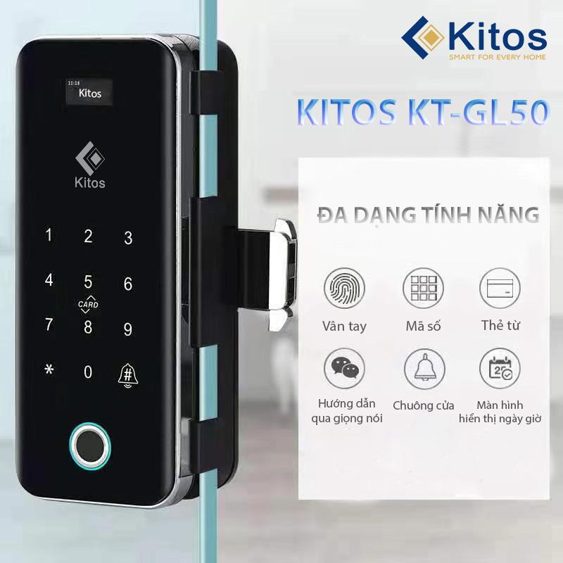 Khóa thông minh cửa kính Kitos GL50