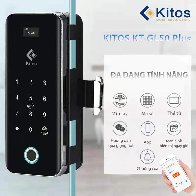 Khóa cửa kính vân tay Kitos GL50 Plus